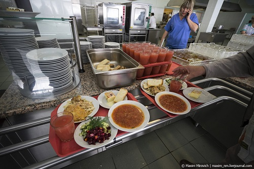 Canteen No 19 of the Chernobyl Atomic Station