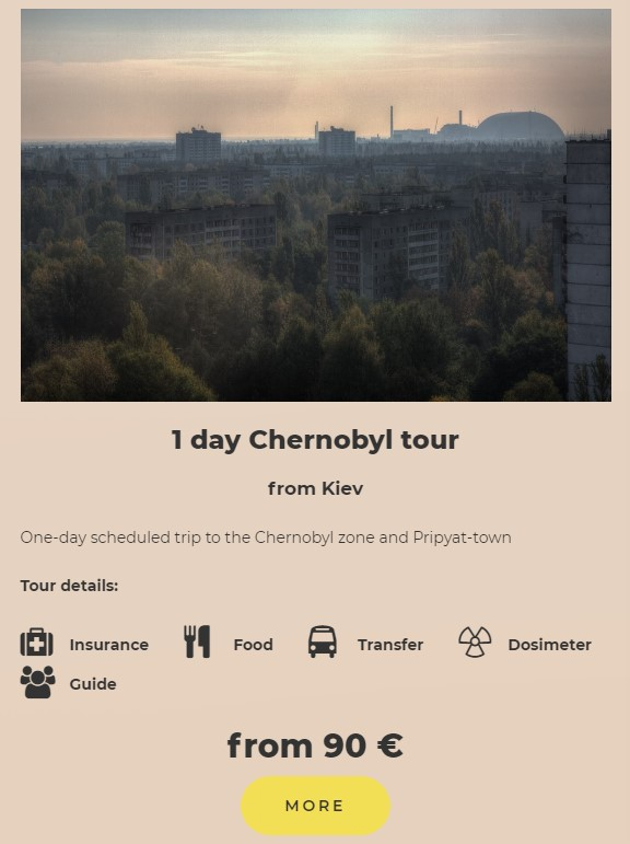 day tour to chernobyl
