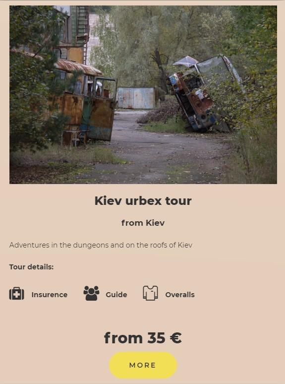 kiev urbex tour