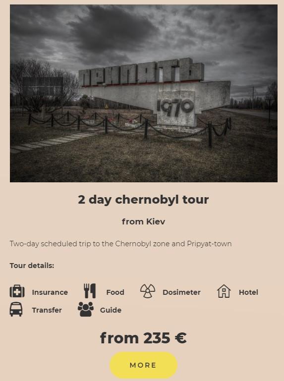 two days in chernobyl